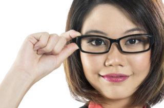 הסרת משקפיים כדי לעבוד?!